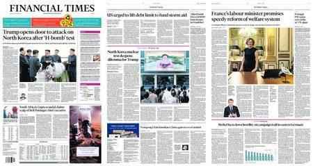 Financial Times Europe – September 04, 2017