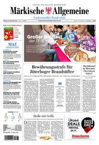 Märkische Allgemeine Luckenwalder Rundschau - 24. November 2017