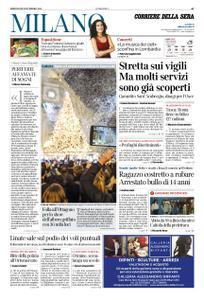 Corriere della Sera Milano – 05 dicembre 2018