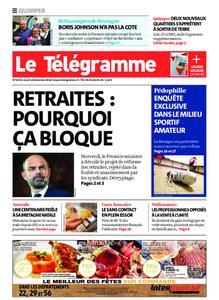 Le Télégramme Quimper – 12 décembre 2019