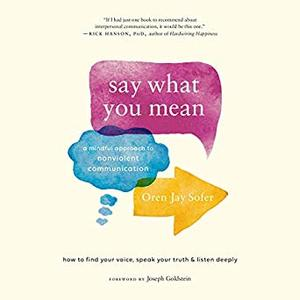 Say What You Mean: A Mindful Approach to Nonviolent Communication [Audiobook]