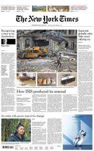 International New York Times - 14 December 2017