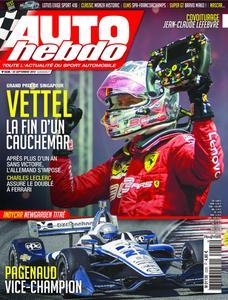 Auto Hebdo - 24 septembre 2019