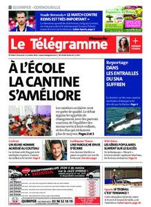 Le Télégramme Quimper – 17 octobre 2021