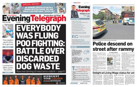Evening Telegraph First Edition – July 19, 2019