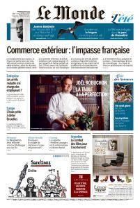 Le Monde du Mercredi 8 Août 2018