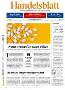 Handelsblatt - 08. August 2018