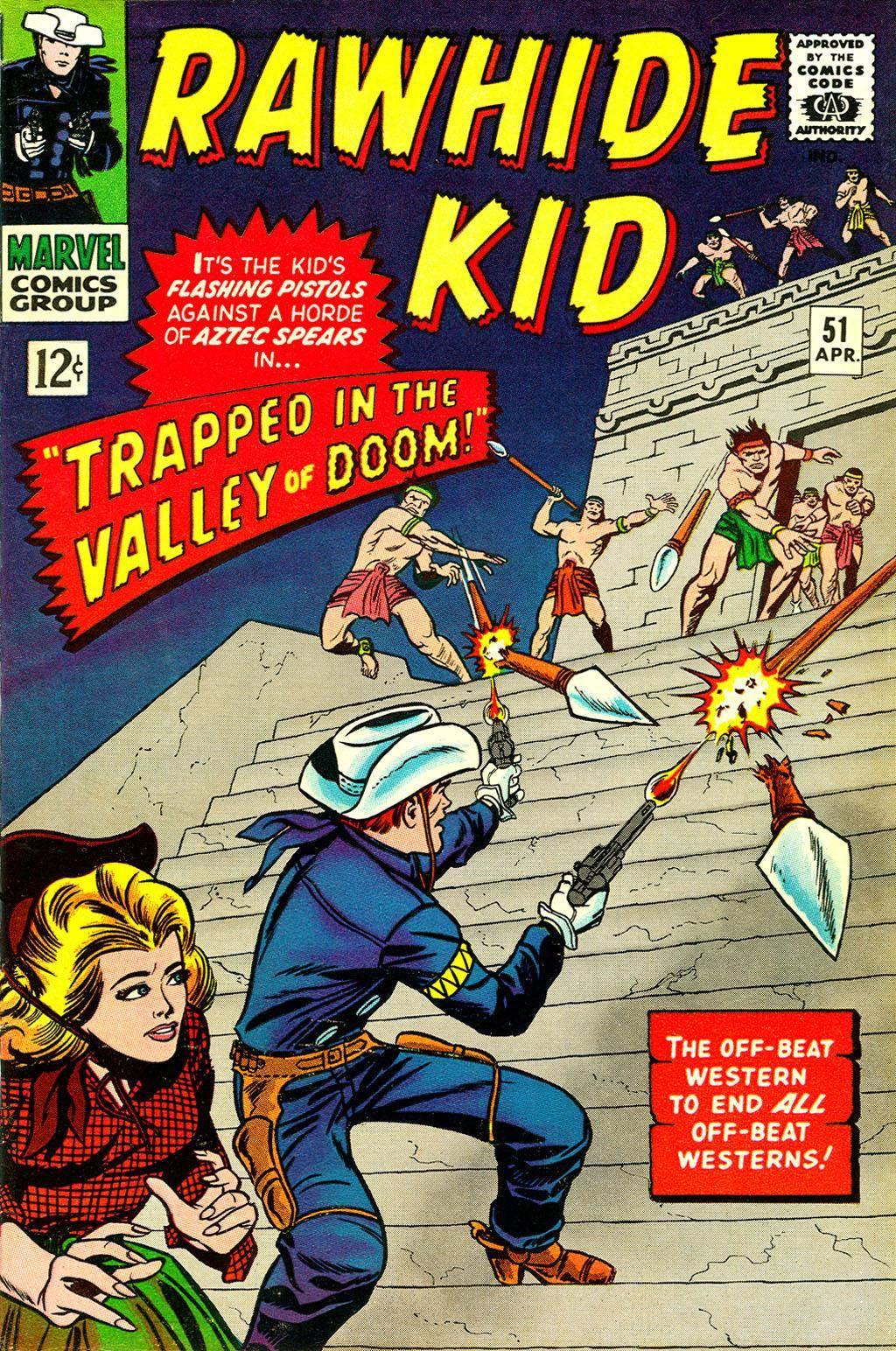 Rawhide Kid v1 051 1966