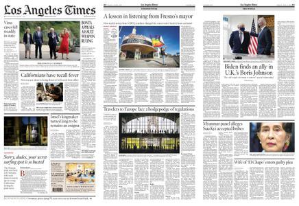 Los Angeles Times – June 11, 2021