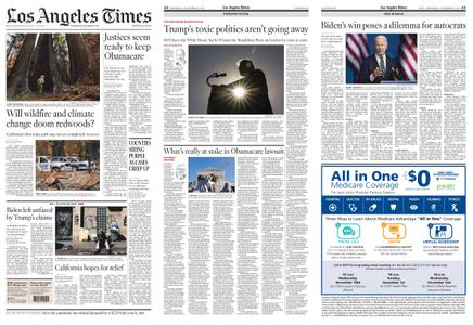 Los Angeles Times – November 11, 2020