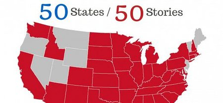 50 States 50 Stories - What You Shared in 2014