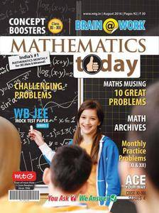 Mathematics Today - August 2016