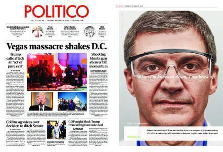 Politico – October 03, 2017