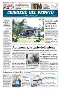 Corriere del Veneto Padova e Rovigo – 13 febbraio 2019