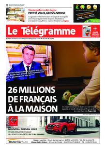 Le Télégramme Guingamp – 13 mars 2020