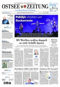 Ostsee Zeitung Wolgast - 25. Oktober 2018