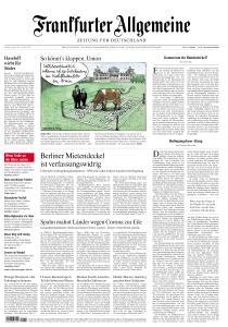 Frankfurter Allgemeine Zeitung - 16 April 2021