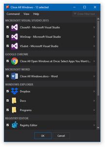 NTWind Close All Windows 4.1