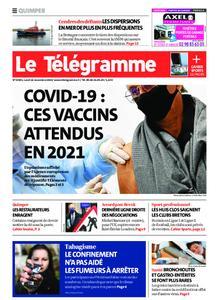 Le Télégramme Quimper – 16 novembre 2020