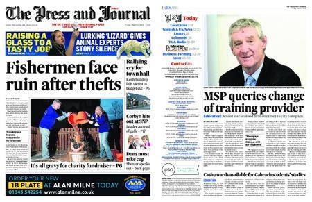 The Press and Journal Moray – March 09, 2018