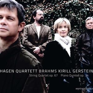 Kirill Gerstein and Hagen Quartett - Brahms: String Quartet No. 3 in B-Flat Major, Op. 67 & Piano Quintet in F Minor, Op. 34 (2