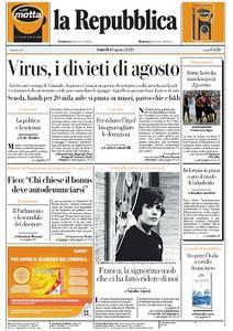 la Repubblica - 10 Agosto 2020