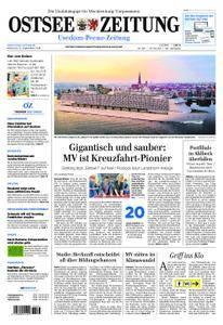 Ostsee Zeitung Wolgast - 12. September 2018