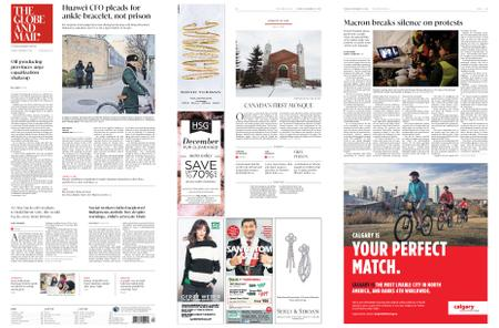 The Globe and Mail – December 11, 2018