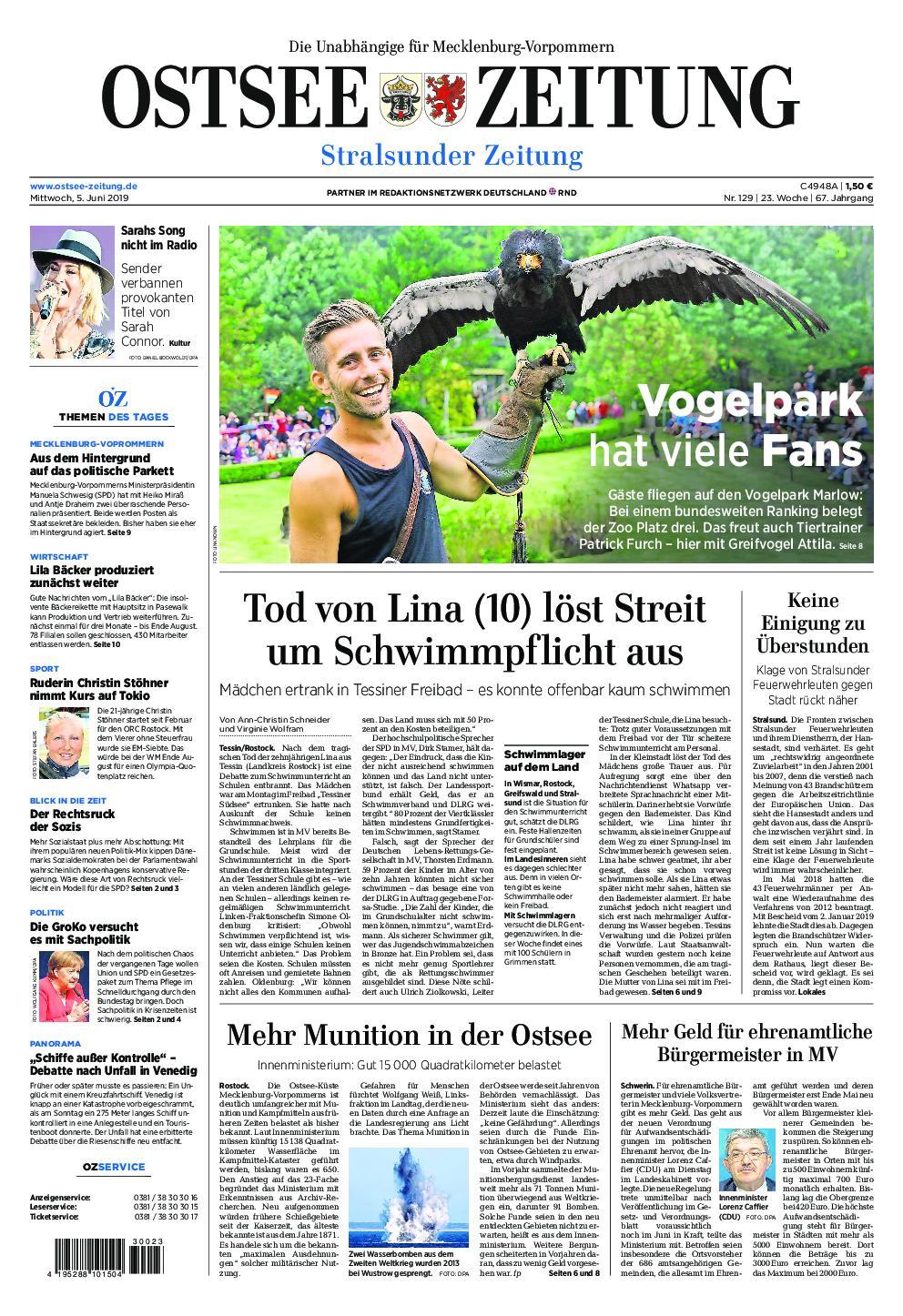 Ostseezeitung Stralsund