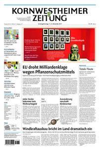 Kornwestheimer Zeitung - 11. November 2017