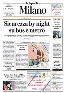 la Repubblica Milano - 11 Gennaio 2020