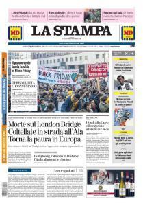 La Stampa Torino Provincia e Canavese - 30 Novembre 2019
