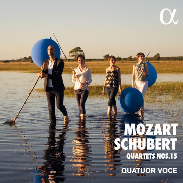 Quatuor Voce - Mozart & Schubert: Quartets Nos. 15 (2019) [Official Digital Download 24/192]