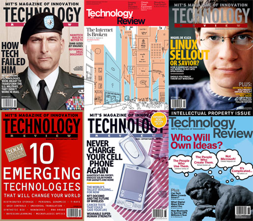 MIT's Technology Review 2004-2005