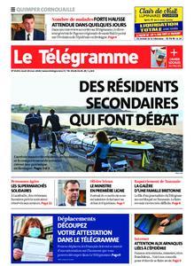 Le Télégramme Ouest Cornouaille – 19 mars 2020