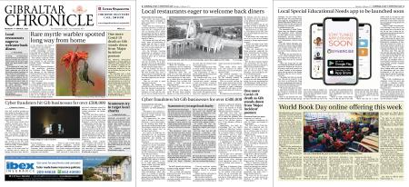 Gibraltar Chronicle – 01 March 2021