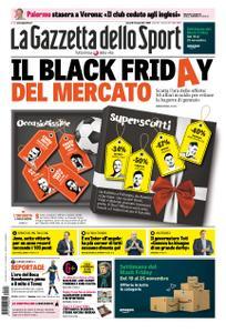 La Gazzetta dello Sport Roma – 23 novembre 2018