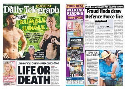 The Daily Telegraph (Sydney) – January 13, 2018