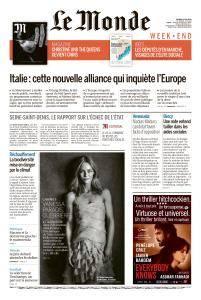 Le Monde du Samedi 19 Mai 2018