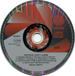 Philip Lynott - The Philip Lynott Album (1982) [Non-Remastered] Re-Up