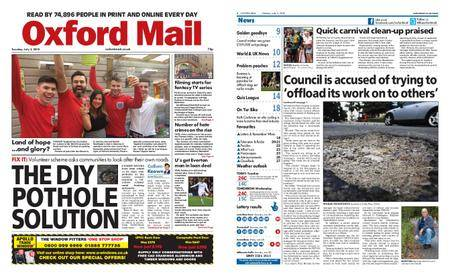 Oxford Mail – July 03, 2018