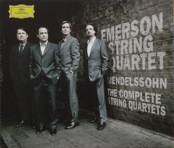 Emerson String Quartet - Felix Mendelssohn: The Complete String Quartets (2005) (Repost)