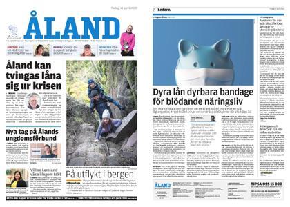 Ålandstidningen – 14 april 2020