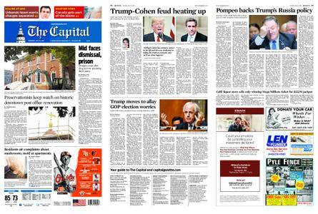 The Capital – July 26, 2018