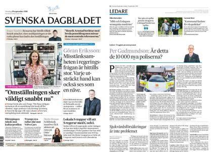 Svenska Dagbladet – 19 september 2018