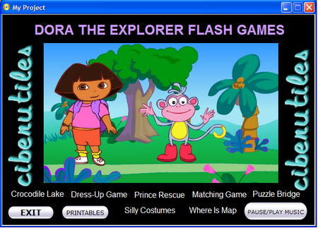 Dora la exploradora - 9 Games