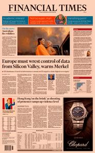Financial Times Europe – 13 November 2019