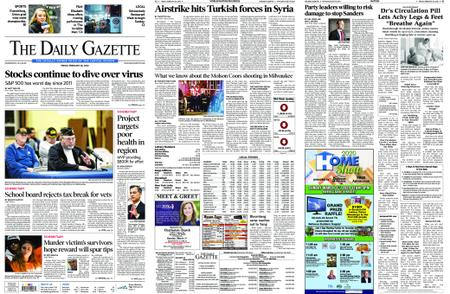 The Daily Gazette – February 28, 2020