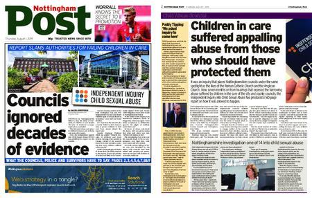 Nottingham Post – August 01, 2019