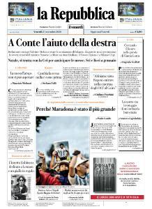la Repubblica - 27 Novembre 2020